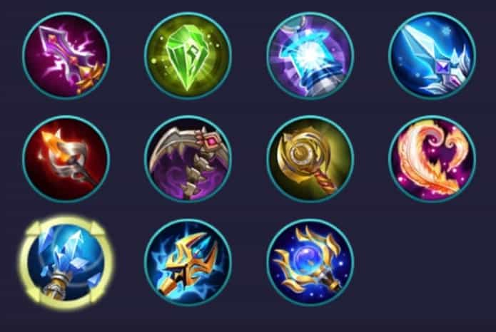 fungsi item magic mobile legends