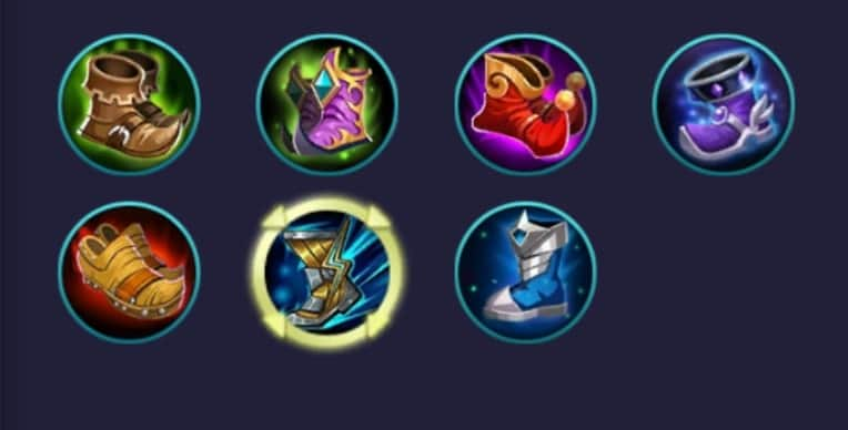 item movement mobile legends