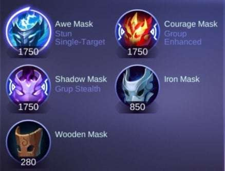 item roam mobile legends