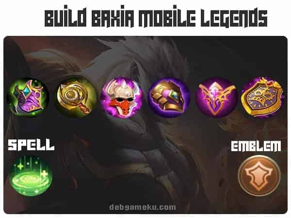 build baxia terkuat