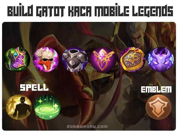 build gatotkaca terkuat