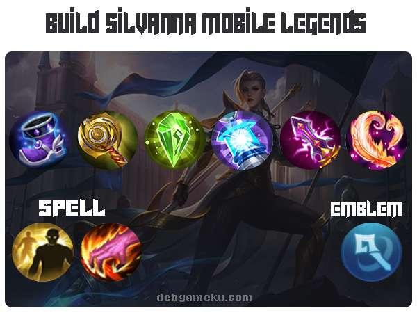 build silvanna mobile legends