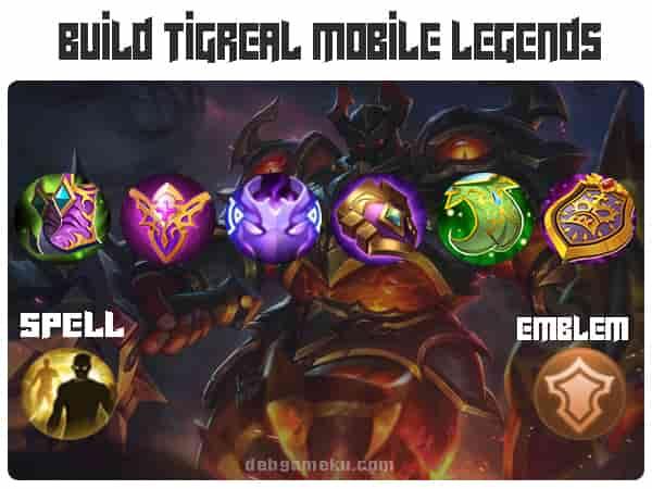 Build Tigreal Terbaik