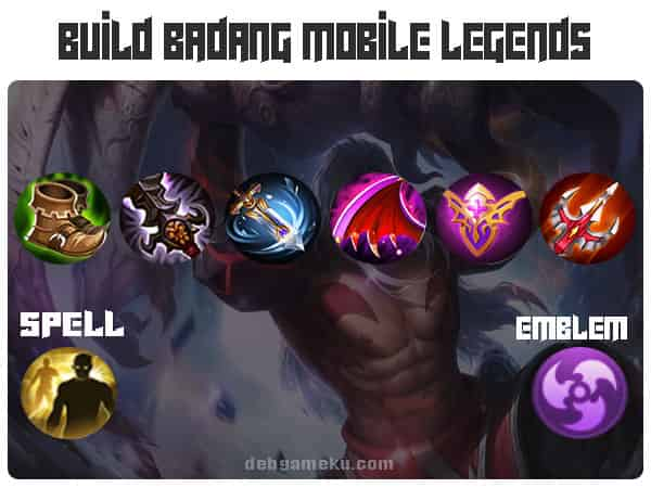 Build Badang Mobile Legends Terkuat