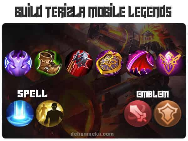 build terizla mobile legends