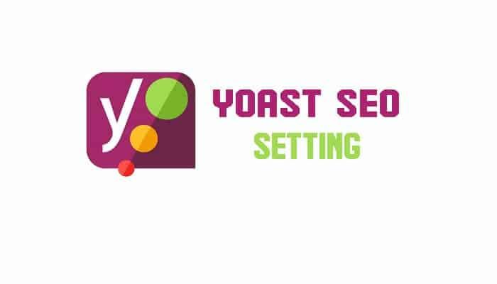 cara setting plugin yoast seo