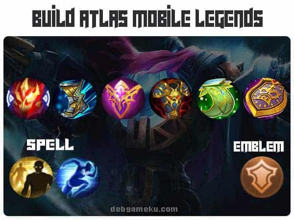 build atlas terbaik