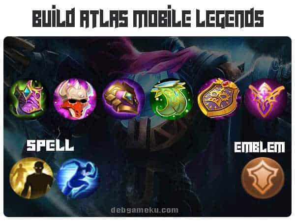 build atlas terkuat