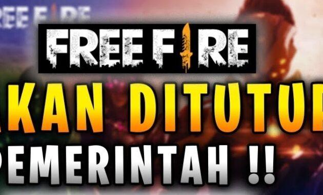 Game Free Fire Akan Ditutup Pemerintah Indonesia