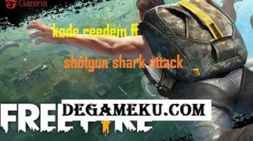 Kode Reedem Shotgun Shark Attack FF Terbaru Juli 2020
