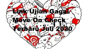 Link Ujian Gagal Move On Check Terbaru 2020