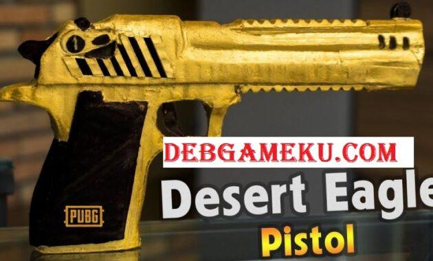 Pengertian Desert Eangle PUBG Mobile Terbaru 2020