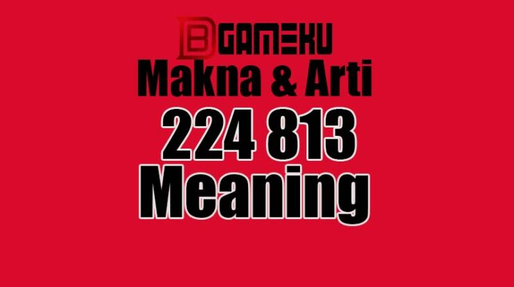 813 224 Meaning