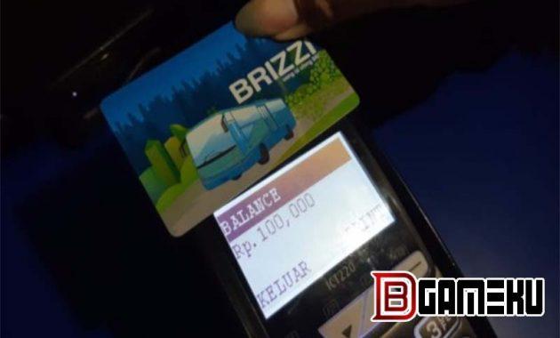 Top Up Brizzi Via ATM