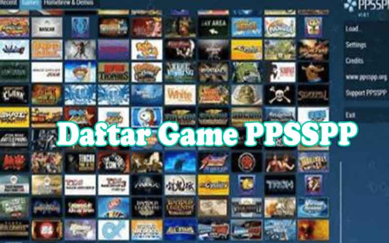 Daftar Game PPSSPP
