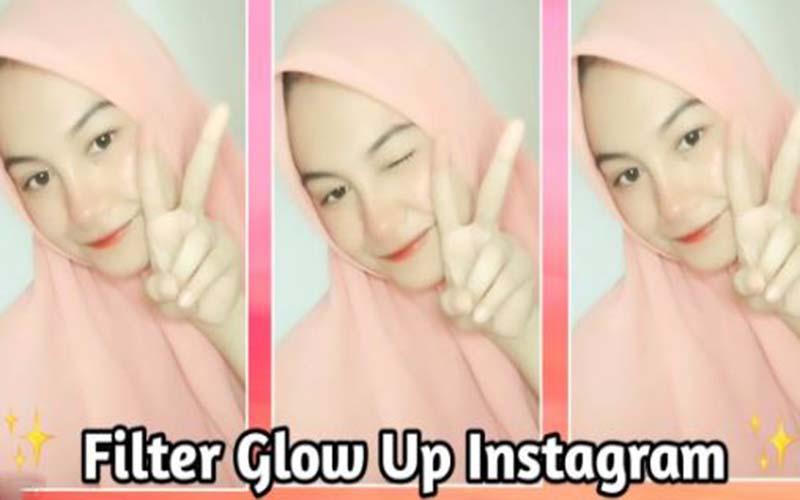 Cara Dapatkan Filter IG Glow Up