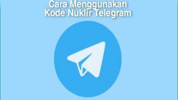 Cara Gunakan Kode Nuklir Telegram Dengan Mudah
