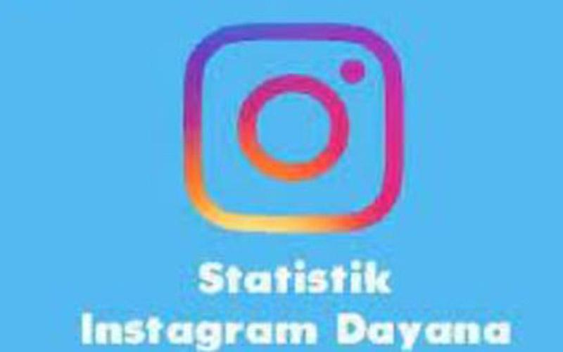 Mengecek Statistik Instagram