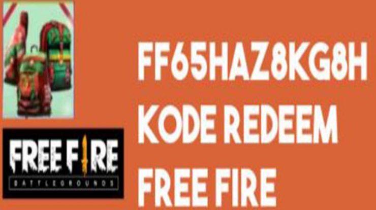 Redeem Code FF Terbaru ff65haz8kg8h