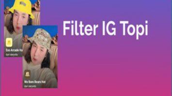 Cara Dapatkan Filter IG Topi