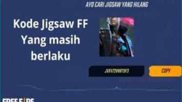 Cara Gunakan Kode Jigsaw FF