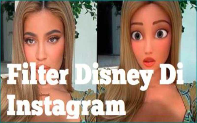 Cara Membuat Filter Kartun di Instagram Disney Pixar