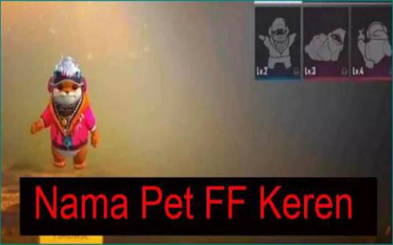 Kumpulan Nama Pet FF
