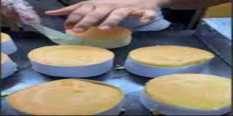 Shuffle Cake Viral Kaki Lima Tangerang Rasa Bintang Lima